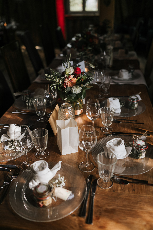 Tischdekoration Hochzeit Berghochzeit Gauklerhof